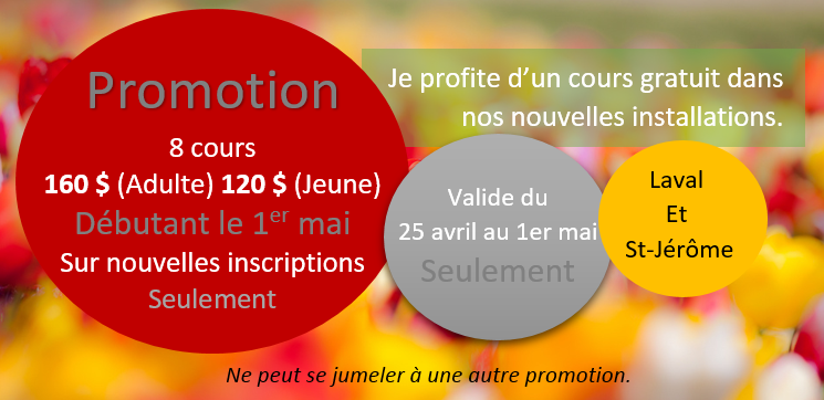 promo 9 cours